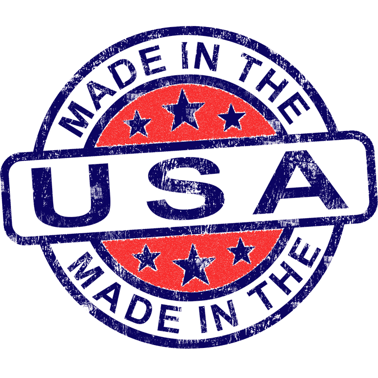 Manufactured in the United States of America (USA)