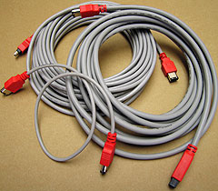 FireWire 400 and FireWire 800 Cables