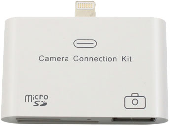3-in-1 Camera Connection Kit/Memory Card Reader for iPad 4/iPad mini (Lightning 8-pin compatible)