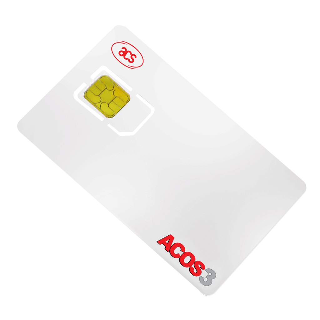 ACOS3 Series Microprocessor Smart Cards