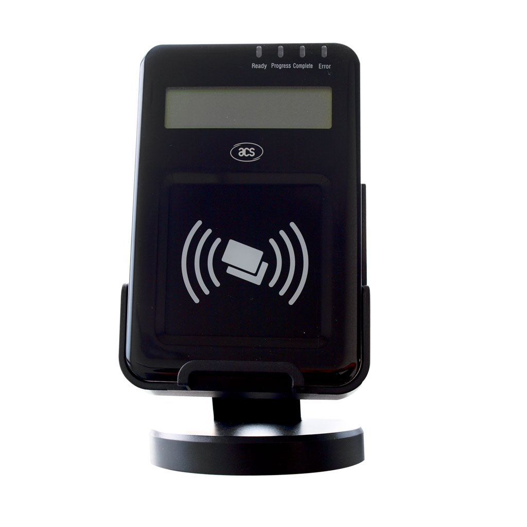 ACR1222L VisualVantage USB NFC Reader with LCD