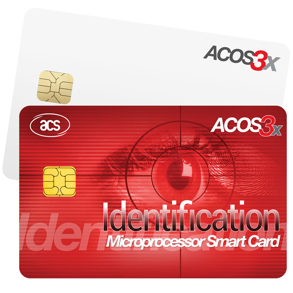 ACOS3x eXpress Series Microprocessor Smart Cards