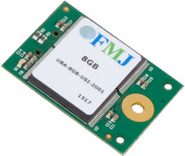 FMJ USB 10-Pin Module Removable Solid-State Memory Storage Subsystem