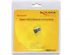 Delock 61889 USB 2.0 Bluetooth 4.0 Dual Mode (EDR) Adapter