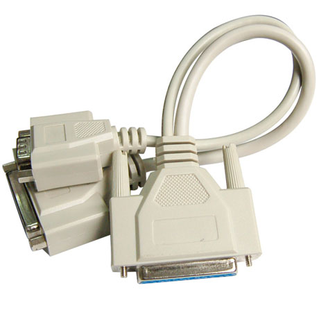 Parallel USB Printer Serial Cable Male To Female LPT DB25 Port Converter 25 Pin