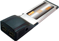 ExpressCard to FireWire 800