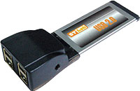 ExpressCard to USB 2.0