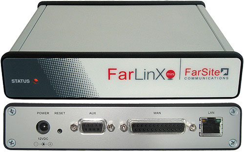 FarLinX X.25 to XOT and X.25 to TCP/IP Mini Gateway