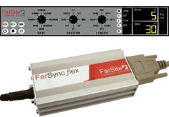 FarSync BERT Tester-USB Flex with Bit Error Rate Test (BERT) line quality tester software + cables