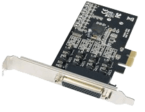 PCI Express to Serial I/O (RS-422/485) DB9 4 Port Host Adapter IP-130