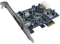 PCI Express to FireWire 800