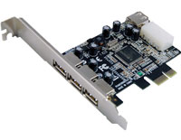 PCI Express to USB