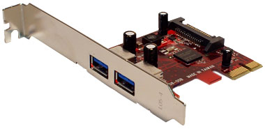 PCI Express to USB 3.0