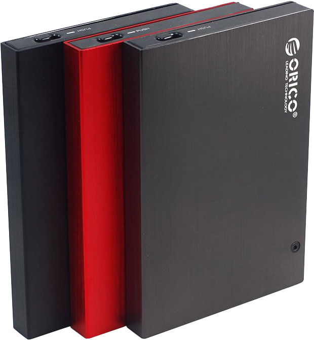 ORICO 2595 Series 2.5-inch SATA HDD/SSD external enclosures with eSATA and SuperSpeed USB 3.0