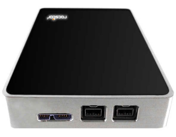 Rocstor LANCER LX Ruggedized USB 3.0/FireWire 800 Mobile Drives ...