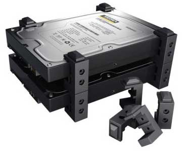 Sedna Drive Stand Kit for 2.5 and 3.5-inch SSDs and HDD Hard Drives