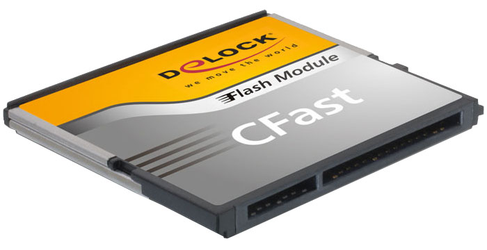 Delock Cfast 2 0 Flash Memory Cards Sata 6 Gb S Synchrotech