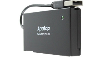 Apotop All-in-1 USB 2.0 Memory Card Reader/Writer Power Saving