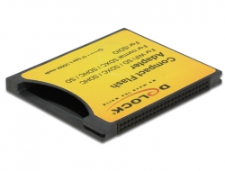 Delock CompactFlash Adapter to SDHC, SDXC, and iSDIO (WiFi SD) Memory Cards